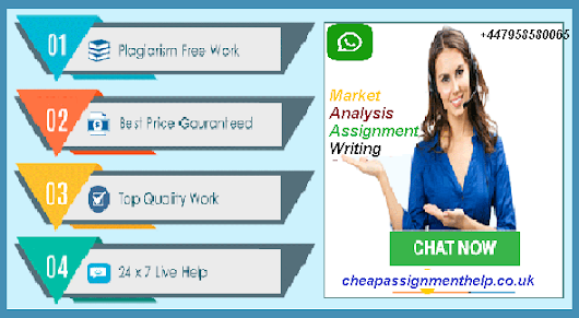 Market Analysis Assignment Writing Service