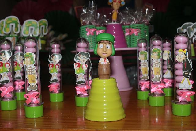 decoração festa do chaves lembrancinhas