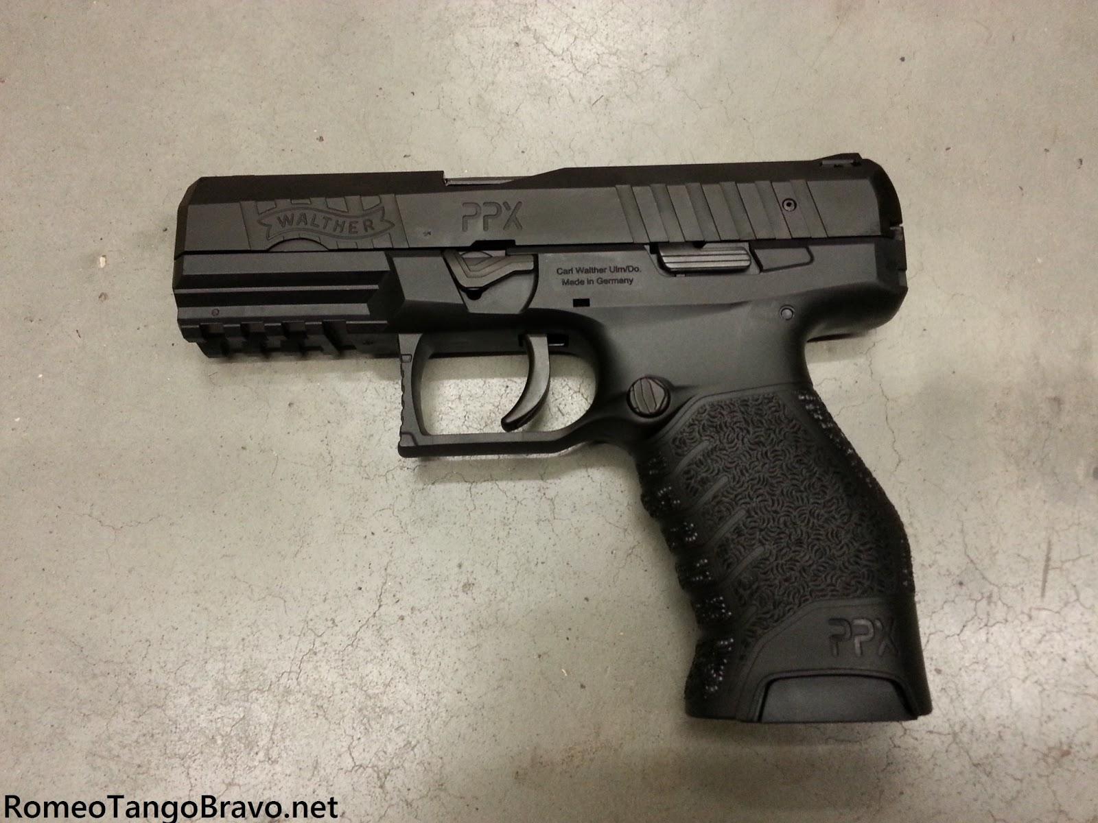 Romeotangobravo Walther Ppx Hits The Shelves