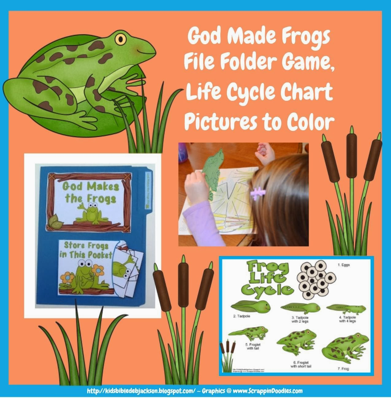 Bible Fun For Kids God Makes The Frogs For Preschool