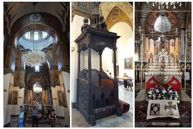 nave principal de catedral de Echmiadzin