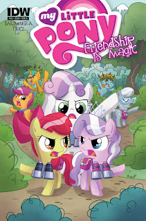 MLP Friendship is Magic #38 Comic by IDW Cover A made by Agnes Garbowska
