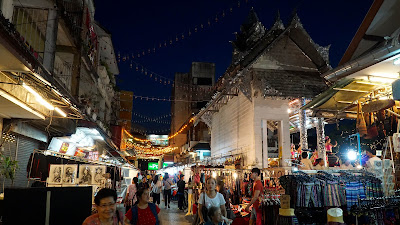 Chiang Rai's biggest surprise to me was its night bazaar