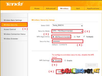 Merubah Password dan Nama Wifi di Router N301 dengan mudah