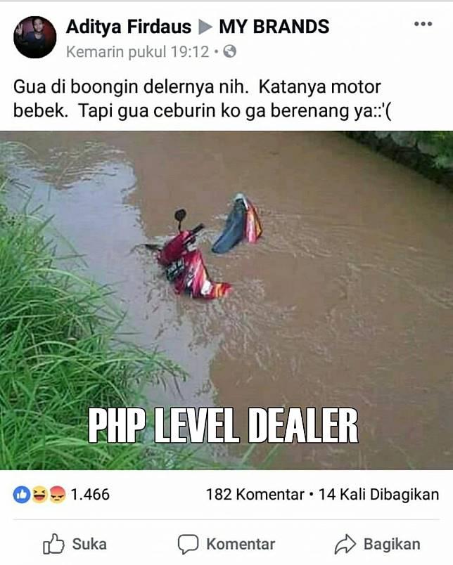 PHP level dealer kаtаnуа. Apa pembelinya аjа уаng nуеlеnеh nіh kеlаkuаnnуа?