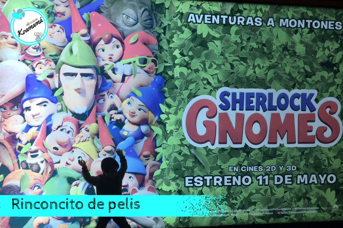 SHERLOCK GNOMES españa opinion