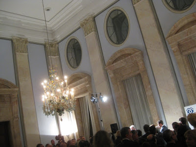 Festsaal der italienischen Botschaft in Berlin