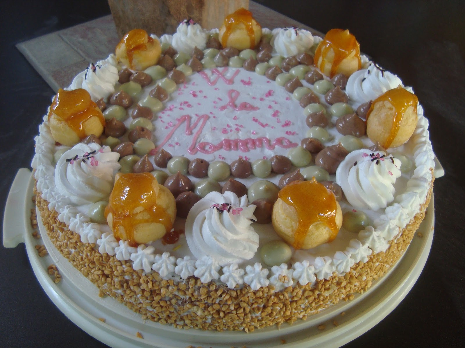 Torta saint honor al pistacchio for Isola di saint honore caraibi