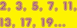Dica grátis dos números primos