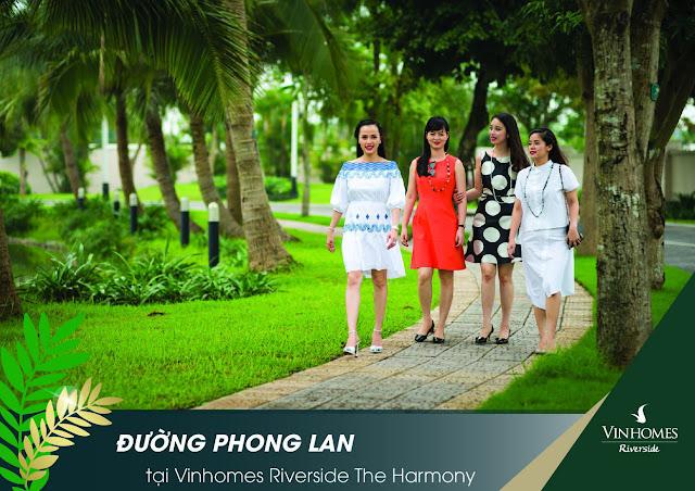 Vinhomes riverside the harmony Phong Lan