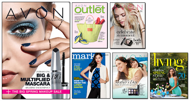 Avon Campaign 10, Avon Outlets, Avon mark magalog, The online date on this Avon catalogs 4/16/2016' - 4/29/2016'