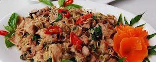Món ăn ngon: thịt dê xào sả ớt