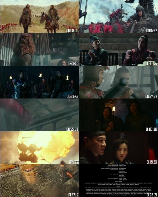 The Great Wall 2016 BRRip 720p 480p Dual Audio Hindi English Full Movie Download