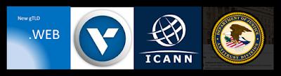 ICANN New gTLD .WEB, Verisign, ICANN, DOJ Antitrust Division