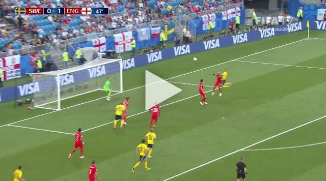 Cuplikan Gol : Swedia 0-2 Inggris (World Cup 2018)