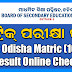 BSE Odisha HSC (Matric) Exam Result 2019 — School Wise Result Download