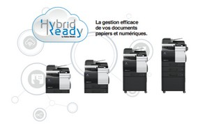 The new Konica Minolta's A4 color range