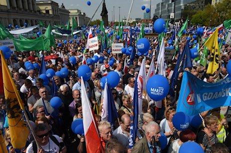 marsz wolnosci PO
