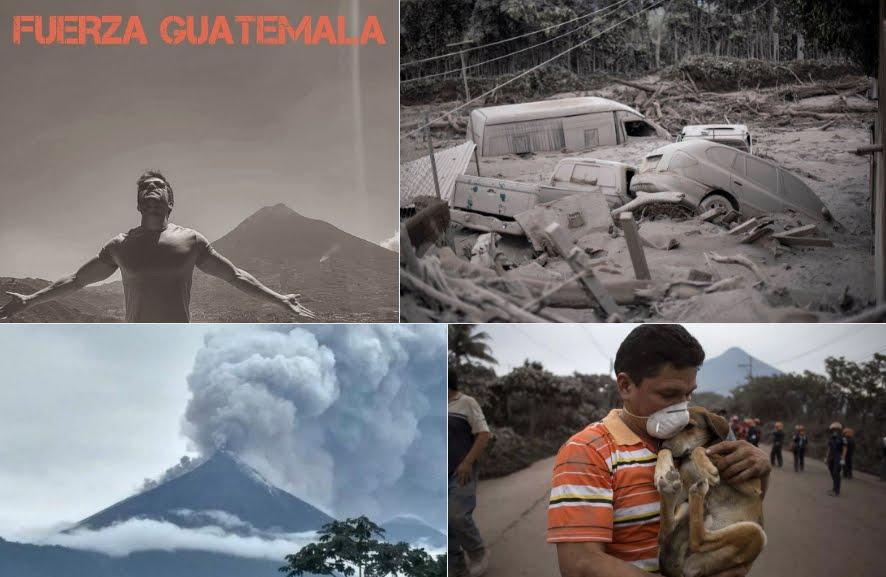 Eruzione Vulcano di Fuoco in Guatemala, ci sono molti morti e dispersi | FOTO e VIDEO