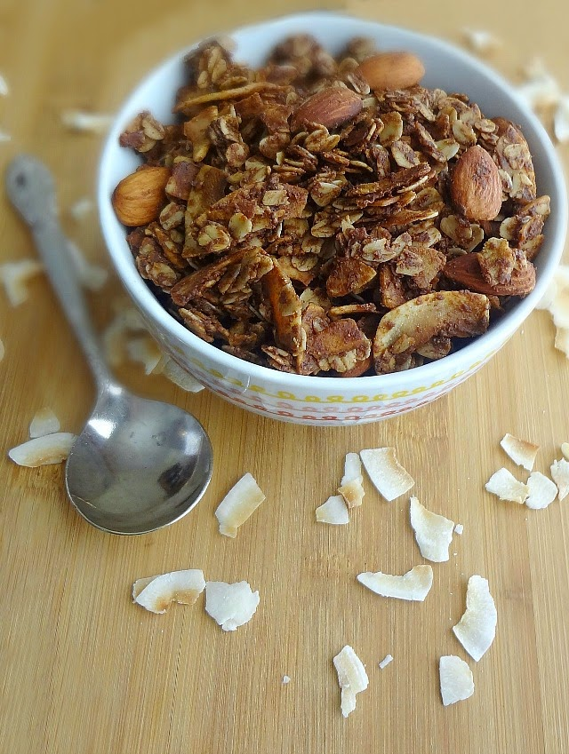 Chocolate Peanut Butter Coconut Nutty Granola