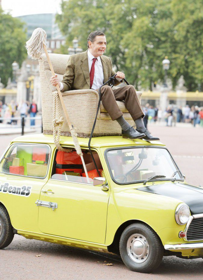 Rowan Atkinson: Mr Bean celebrated in London