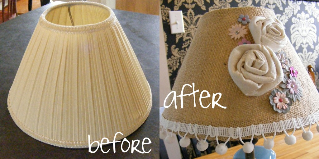 How To Recover A Lamp Shade The Complete Guide To Imperfect Homemaking