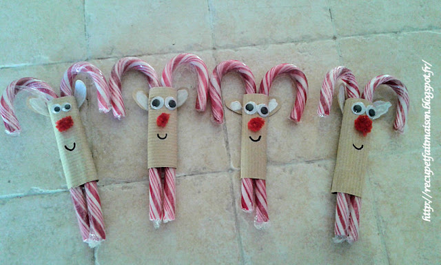 candy christmas reindeer