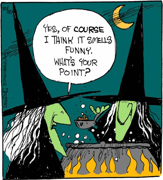 Dying for Chocolate: Cartoon of the Day: Witches Brew
