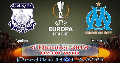 Prediksi Bola855 Apollon vs Marseille 5 Oktober 2018