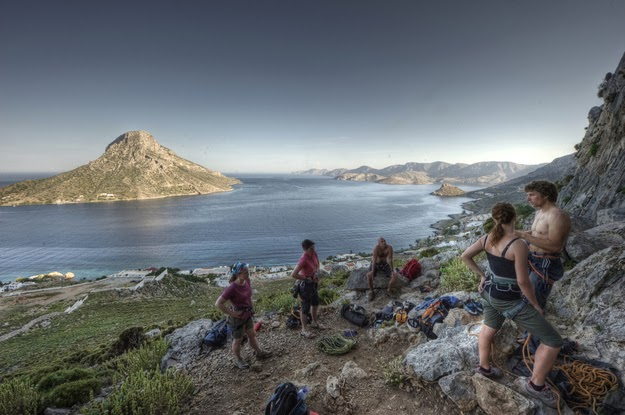 37. Rock climbing on the island of Kalymnos is some of the best there is. - 49 Reasons To Love Hellas (Greece)