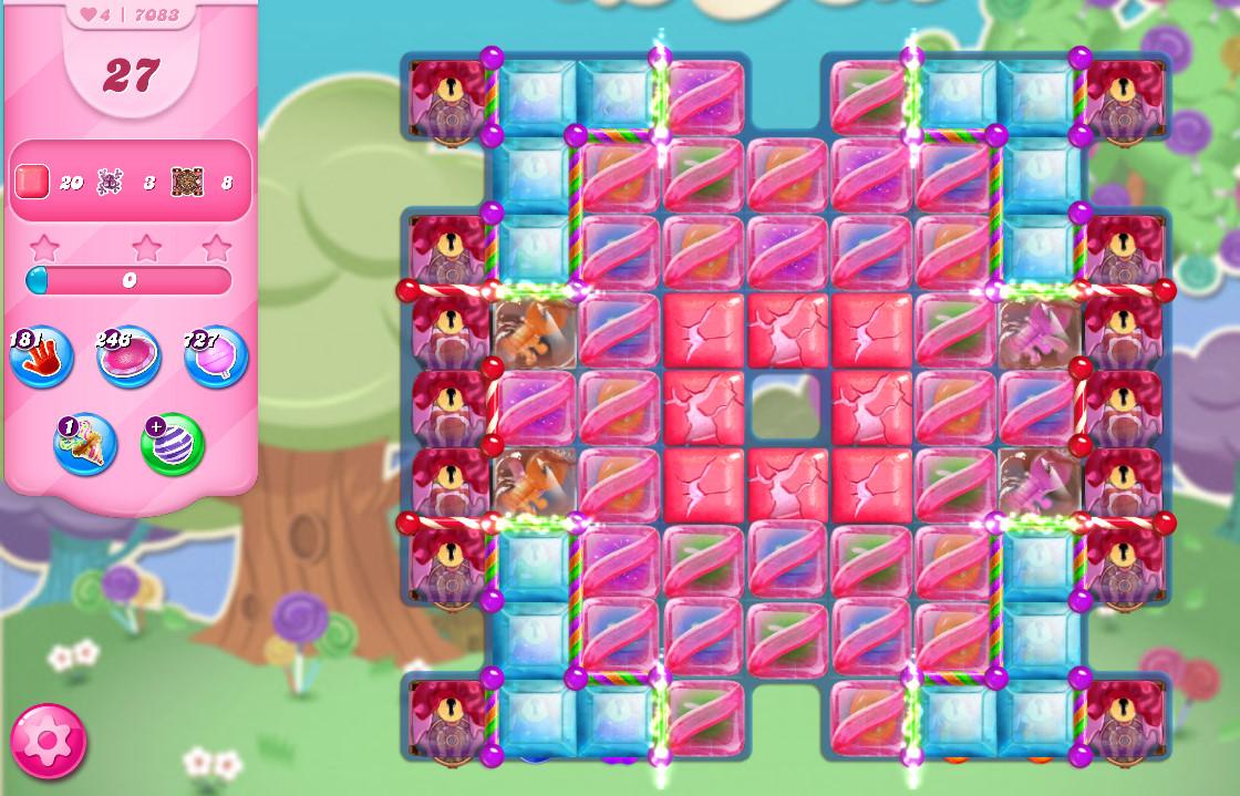 Candy Crush Saga level 7083