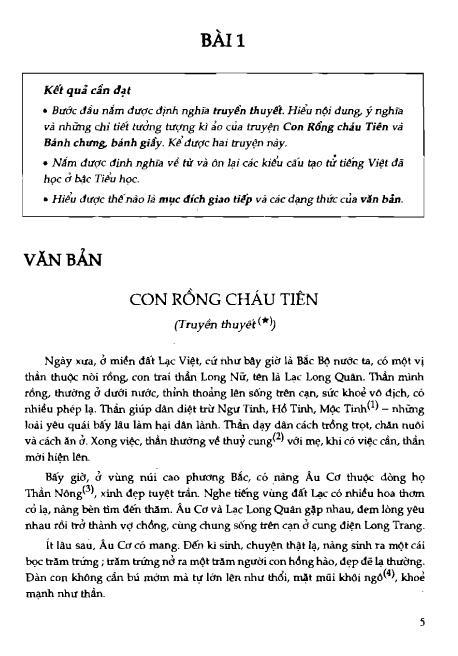 Trang 6 sach Sách Giáo Khoa Ngữ Văn Lớp 6 Tập 1