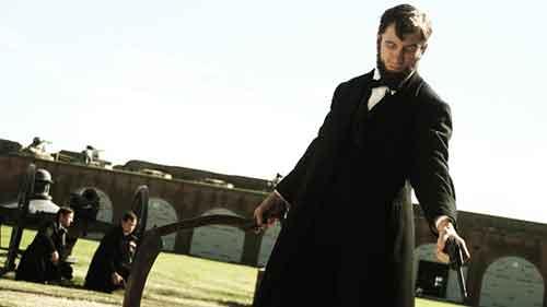 Abraham Lincoln vs Zombies escena de la película