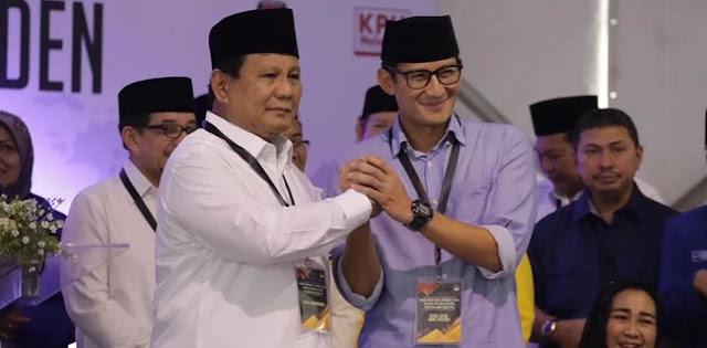 Survei LSI: Kelompok Terpelajar Lebih Memilih Prabowo-Sandi