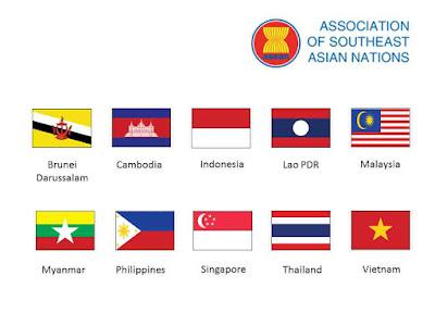 ASEAN yaitu organisasi geopolitik negara di daerah Asia Tenggara 10 Negara Anggota ASEAN | Profil, Ibukota, Mata Uang, Keterangan