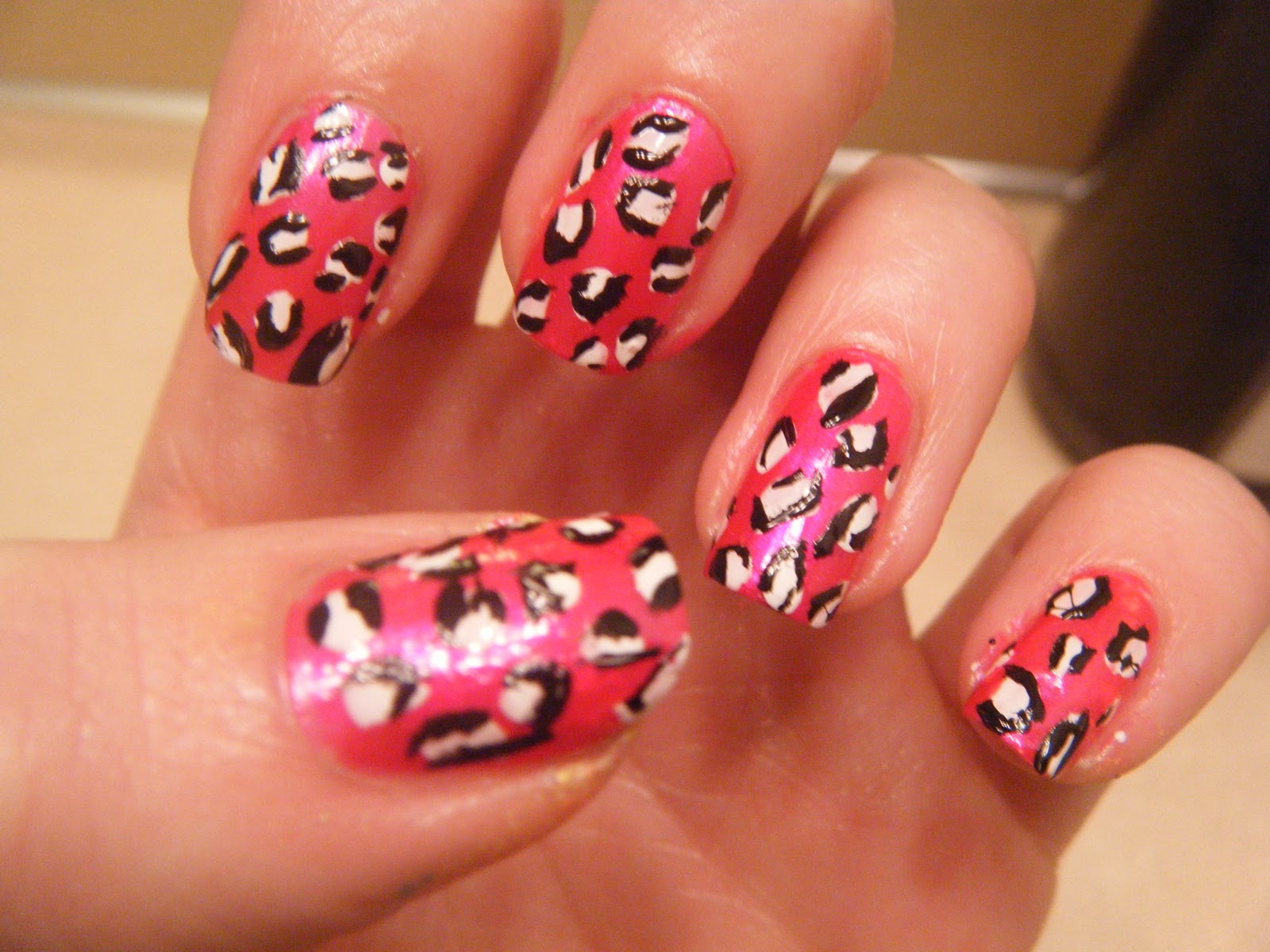 Hail's Nails: Cheetah Print Nails