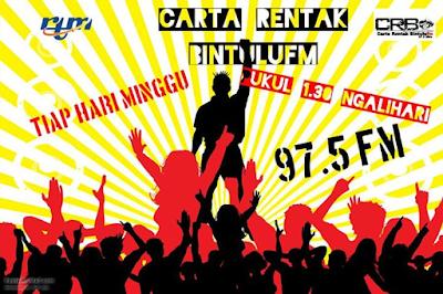 Carta Rentak BINTULUfm 17 July 2016