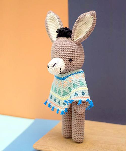 amigurumi donkey crochet pattern
