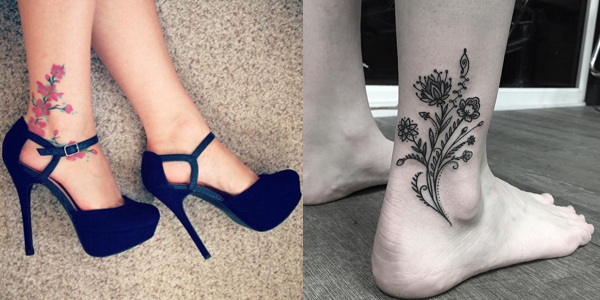 ed43829d46aa6 Ankle Tattoo Designs that will flaunt your Walk!