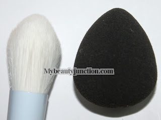 Beautyblender Detailers Plush Brush makeup review, usage and photos