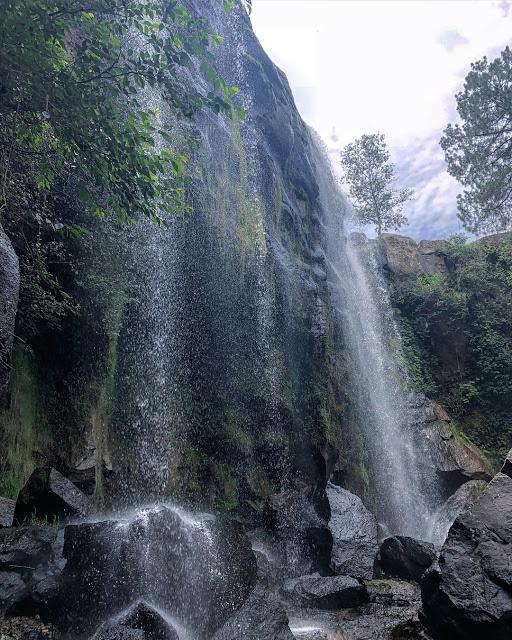 En vivo desde la caida la cascada de San Pedro