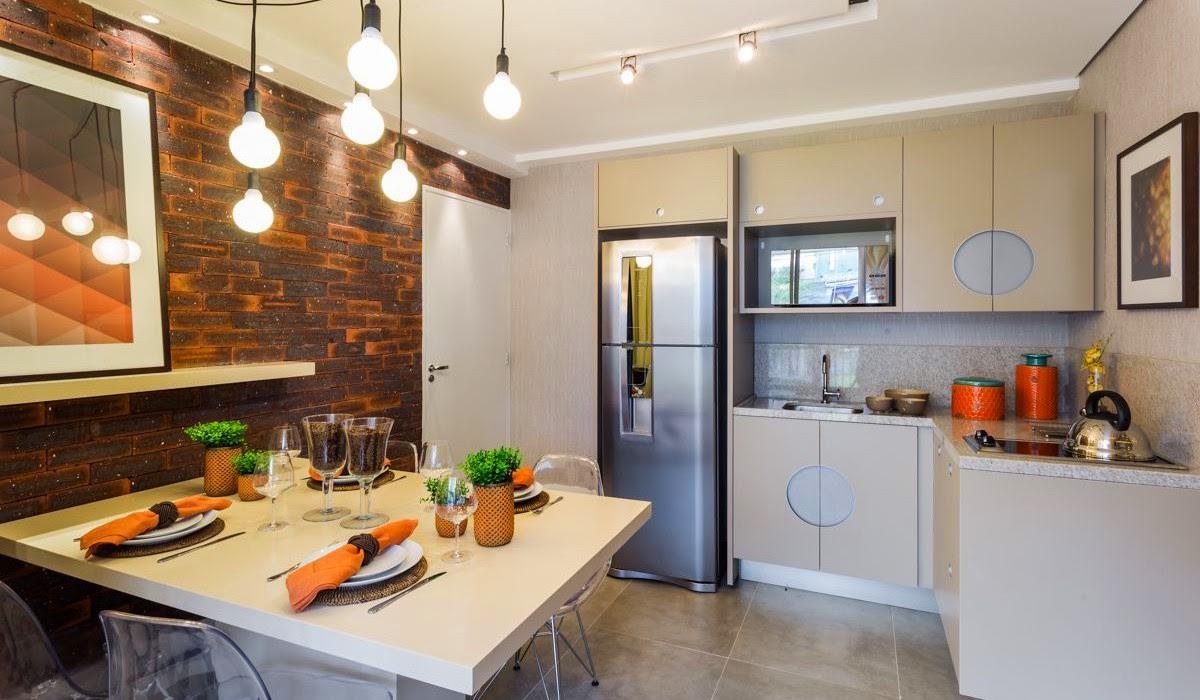 Decora o de apartamento studio jeito de casa blog de for Cocina y lavanderia juntas