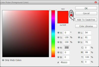 اختيار لون مناسب لتصاميم الشاشات و الويب
