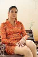Actress Mumtaz Sorcar Stills in Short Dress at Guru Movie Success meet  0189.JPG