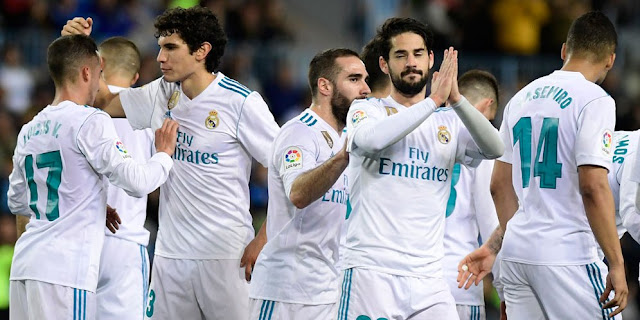 Video Cuplikan Gol Malaga 1-2 Real Madrid | Laliga