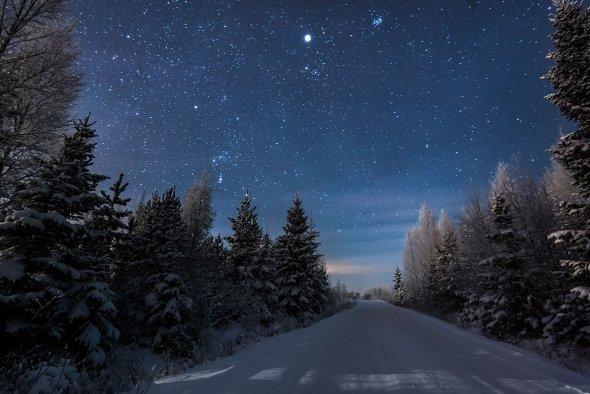 Mikko Lagerstedt arte fotografia solidão cenários paisagem natureza céu estrelado noite