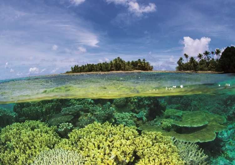 Bikini Atolü muhteşem görüntüsüne rağmen oldukça tehlikeli bir bölgedir.