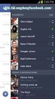 facebook messenger lg, tai facebook messenger Lg, download facebook messenger  cho máy lg