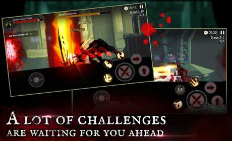 Game Action Petualangan Android Offline Shadow of Death MOD APK