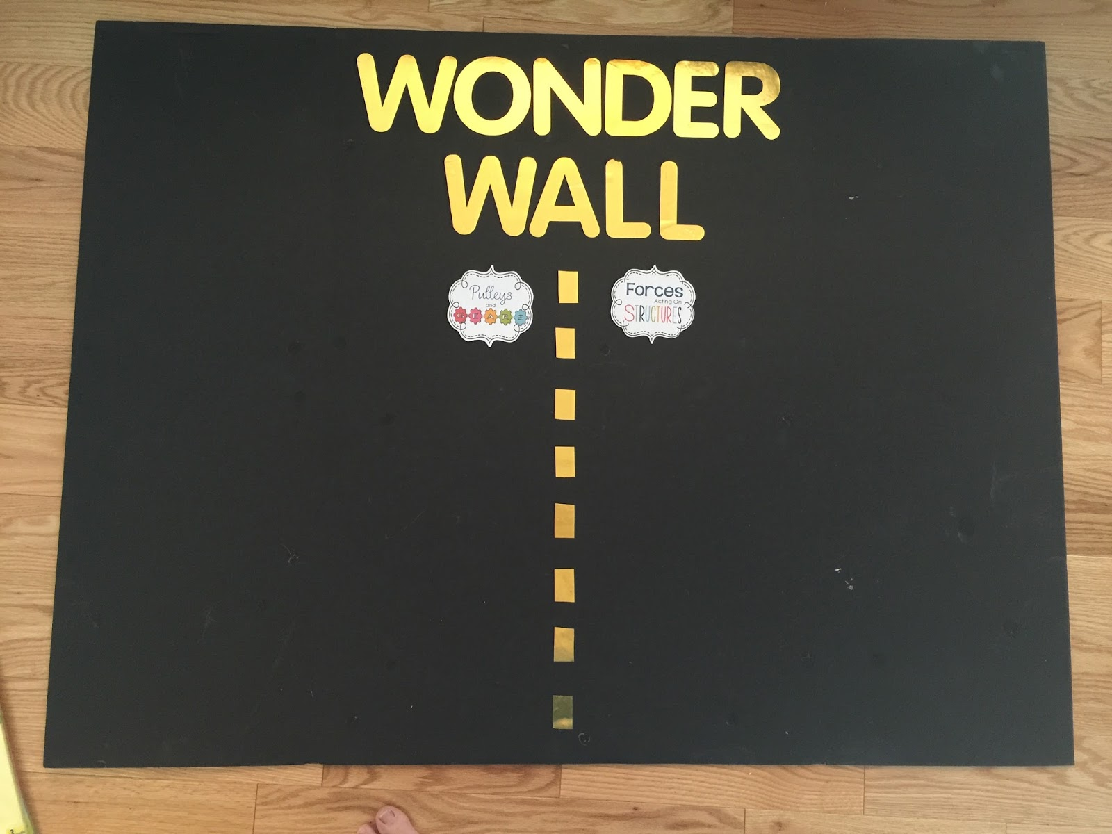 Kinder Garden: Talking Inquiry: Making A Wonder Wall